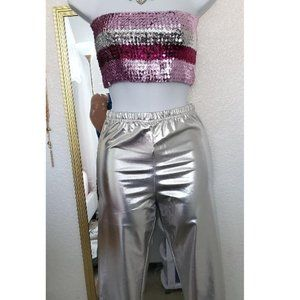 New M/L Sequin Tube Top American Apperal